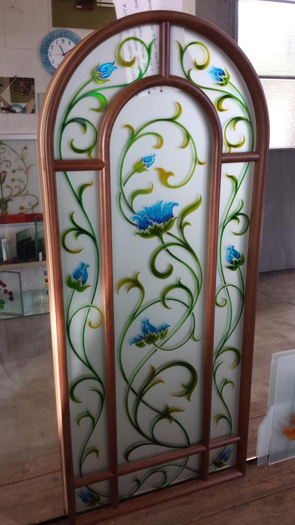 Vetraria gelfi bergamo vetri per edilizia e arredamento - Porta interna vetro ...