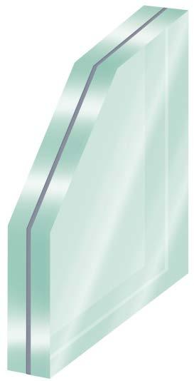 vetro laminato per balaustre