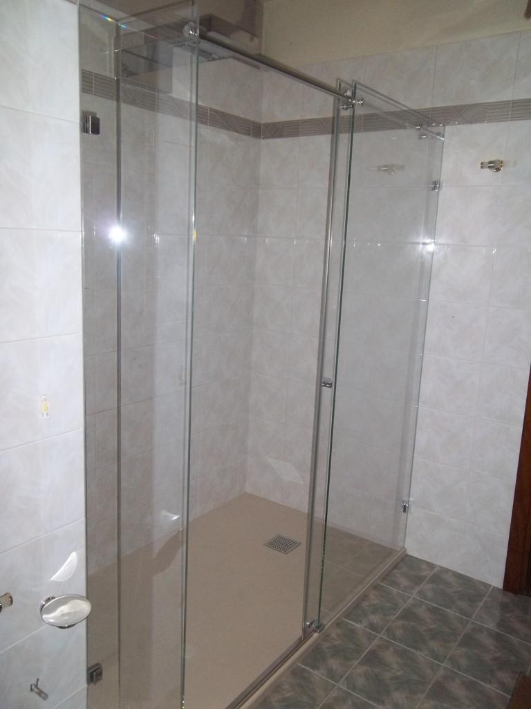 box doccia in vetro su misura finito