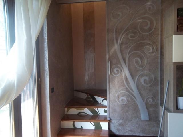 Porte vetro scorrevoli e battente vetraria gelfi bergamo for Scala a chiocciola della cabina