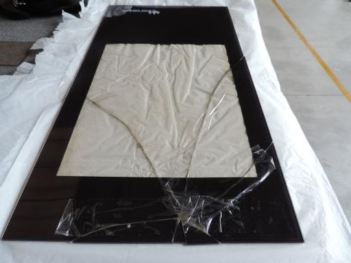 vetro per stufa rotto
