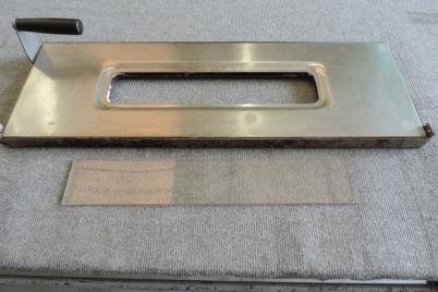 vetro per forno in sostituzione