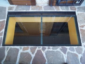 vetro calpestabile trasparente per illuminare seminterrato