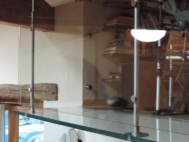 vetro calpestabile in balcone