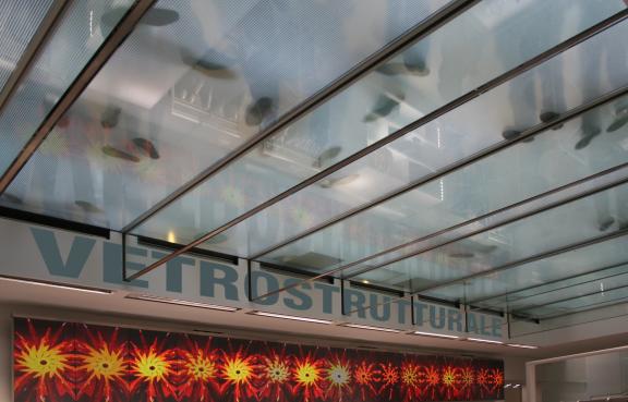vetro strutturale di sostegno