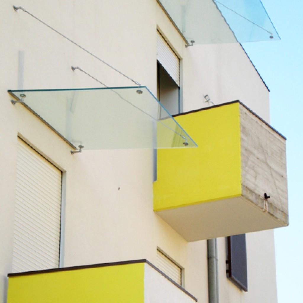 pensiline sui balconi