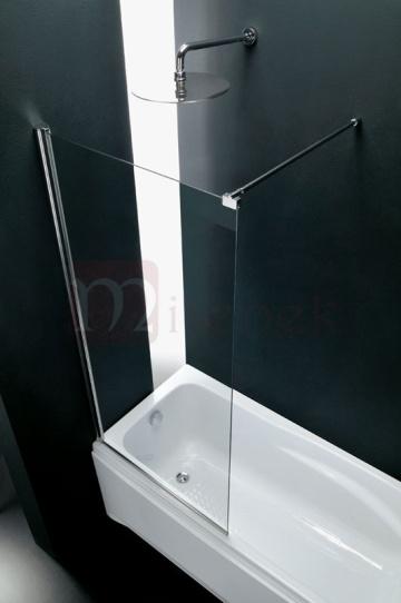 solo parete in vetro fissa per box doccia