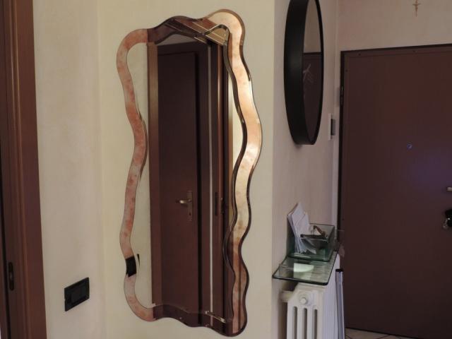 Cabina doccia con lavatrice vetraria gelfi bergamo - Specchio antichizzato ...