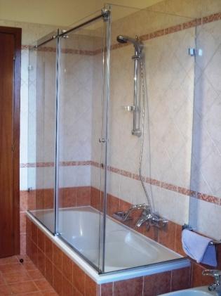 box doccia in cristallo sopravasca in vetro