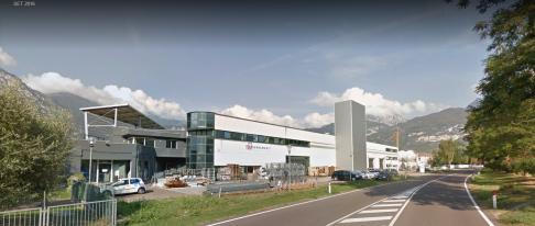sede della Tosi serramenti in Trentino