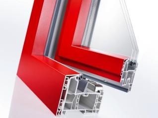 pvc composito con fibra di vetro e alluminio