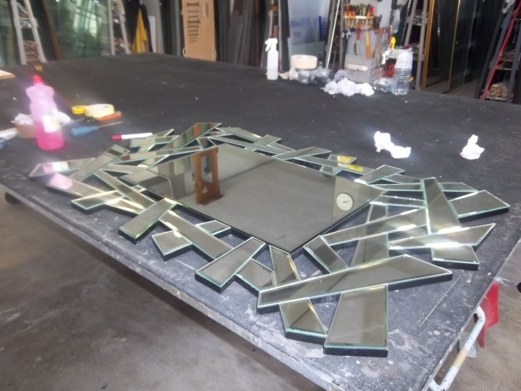 specchio decorativo per anticamera