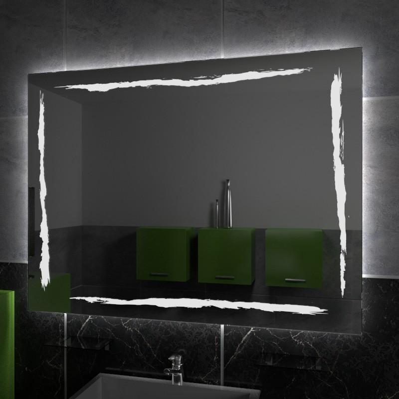specchio retroilluminato con il LED