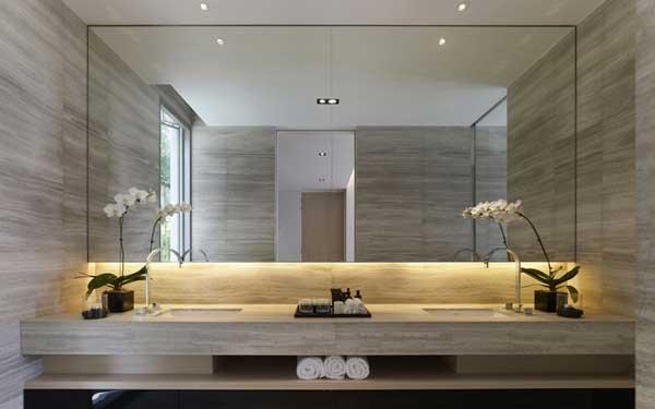 Specchio da bagno u vetraria gelfi bergamo