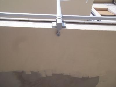 cambio della ringhiera in ferro con una in alluminio