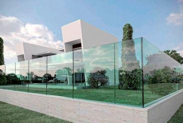 barriera in vetro