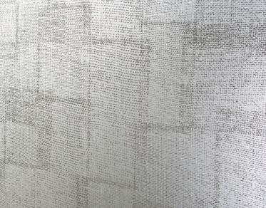 vetro satinato a imitazione tela di lino