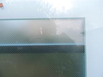 vetro antiscivolo smaltato all'interno dell'assemblaggio