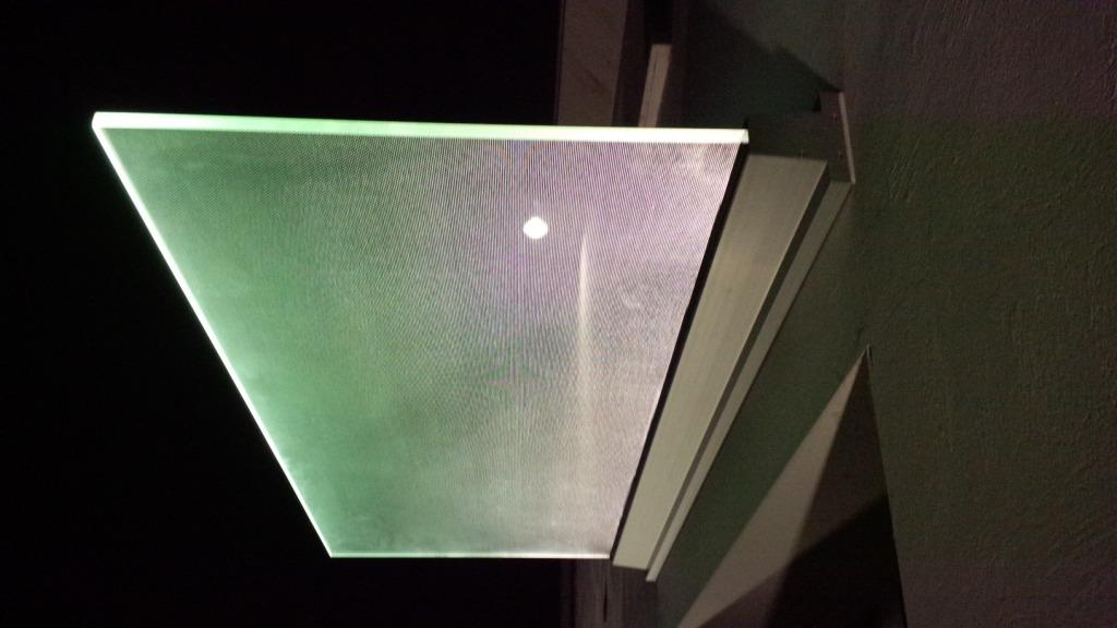 pensilina illuminata al led
