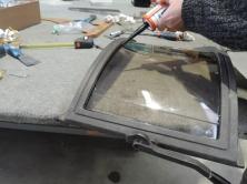 sostituzione vetro stufa rotto
