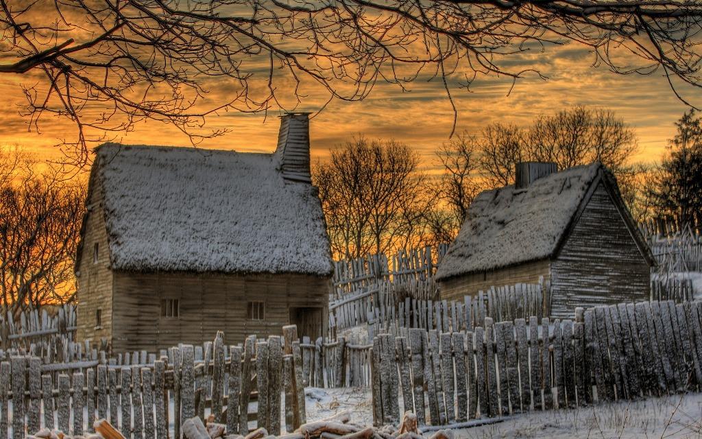foto di inverno gelido