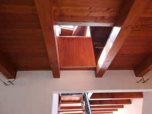 lucernario nel pavimento del soppalco