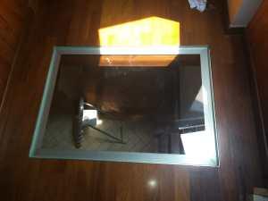 vetro di sicurezza calpestabili e illuminante il piano sotto il soppalco